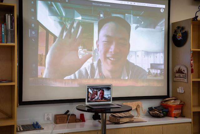 Shanghai Community International School connecting digitally.