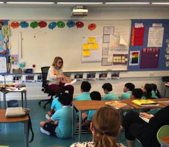 Hannah teaching