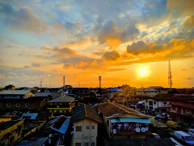 Lagos sunset