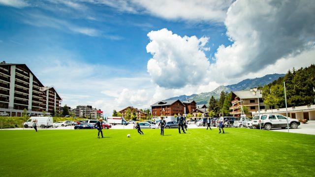 Le Regent International School - Sports pitch