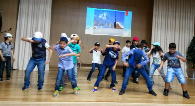 New Year rap dance