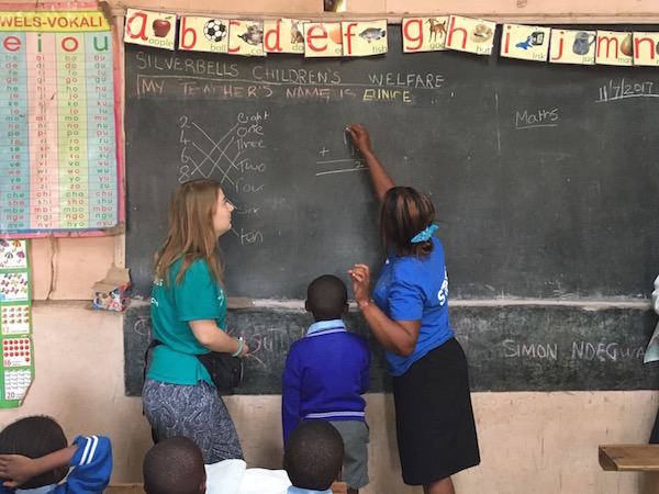 Students Teaching Abroad