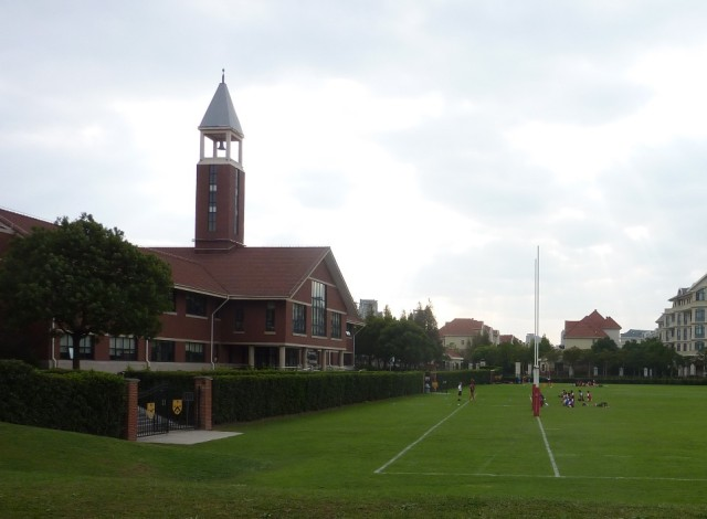 Dulwich College in Shanghai: really well-run school in a lovely suburb of Shanghai
