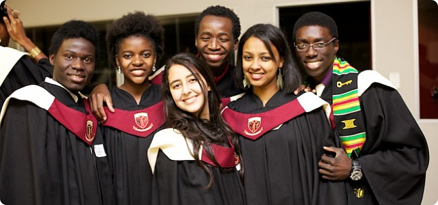 African Leadership Academy students