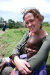 Shannon Howlett in Tanzania