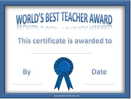 best-teacher-award